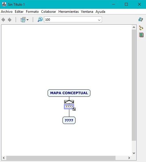 Añadir segundo concepto en CmapTools