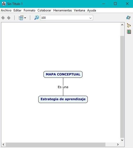 Palabra enlace en CmapTools