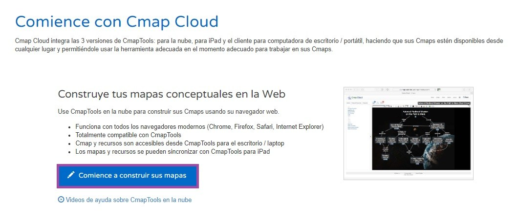 Crear Mapa Conceptual Online CmapTools