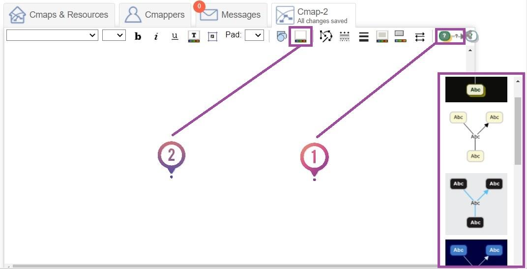 Editar Cmaps Online