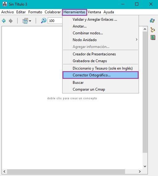 Corrector Ortográfico CmapTools