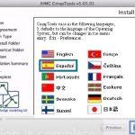 Idiomas Disponibles CmapTools Mac