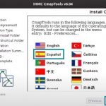 Idiomas Disponibles CmapTools Linux